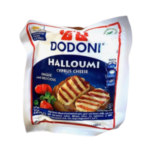 Cheese - Halloumi Cyprus cheese by Dodoni - 225g block packet