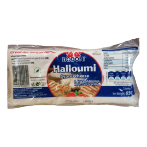 Cheese - Halloumi Cyprus cheese by Dodoni - 650g block packet