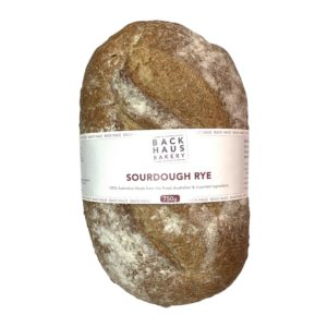 Bread - BACK HAUS BAKERY - Sourdough Rye Loaf  ***BAKED FRESH DAILY***