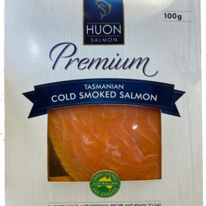 Salmon - Premium Cold Smoked Salmon Sliced from Tasmania by HUON SALMON  100g