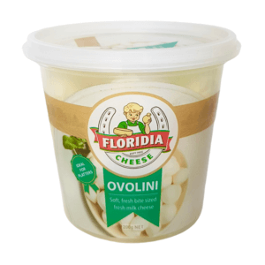 "Cheese -  Ovolini ""soft bite sized"" bocconcini cheese by Floridia Cheese 200g"