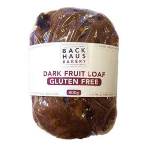 "Bread - BACK HAUS BAKERY - ""Gluten Free"" Dark Fruit Loaf     ***BAKED FRESH DAILY***"