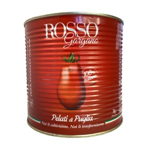 Tomato - Peeled Whole - by Rosso Gargano 2.5kg